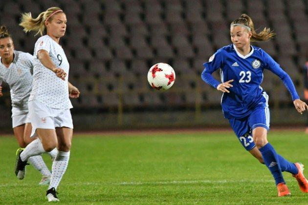 Qualifs Euro-2021: les Bleues s'imposent 3-0 Kazakhstan pour leurs débuts