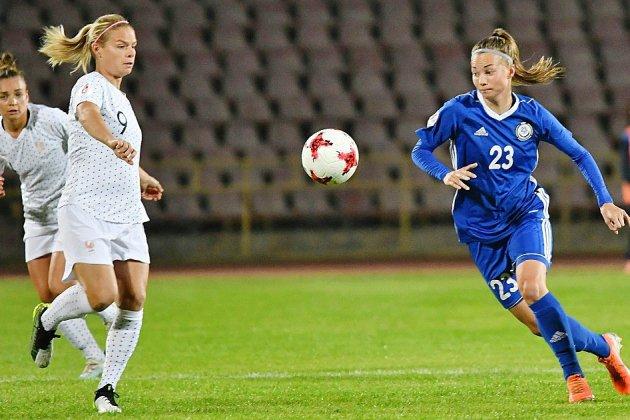Qualifs Euro-2021: engourdies, les Bleues assurent l'essentiel au Kazakhstan