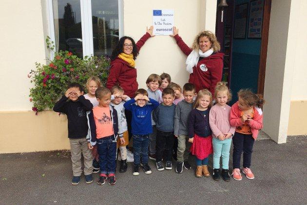 Seine-Maritime: l'école de Mannevillette aime l'Europe