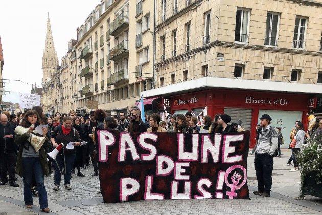 Appel à la mobilisation contre les féminicides place Bouchard