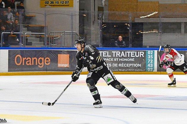 Hockey : les Dragons de Rouen ont fini par céder