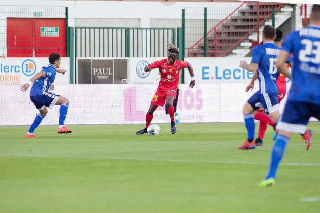 Football : Quevilly Rouen Métropole fait une parenthèse Coupe de France face aux Sapins