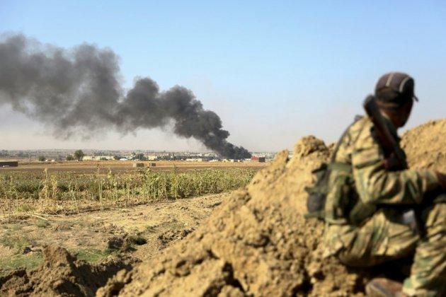 Syrie: combats dans les secteurs frontaliers entre forces turques et kurdes