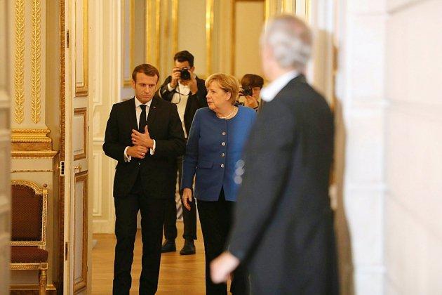 Macron et Merkel appellent la Turquie à cesser son attaque en Syrie