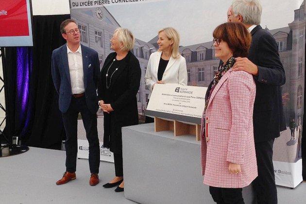 Lancement des travaux de restructuration du lycée Corneille