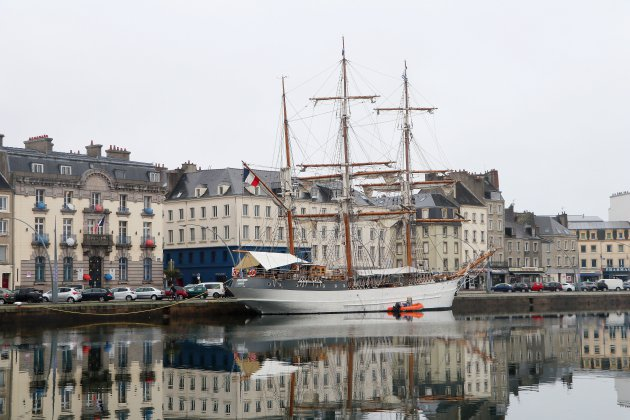 Le trois-mâts Le Français se visite