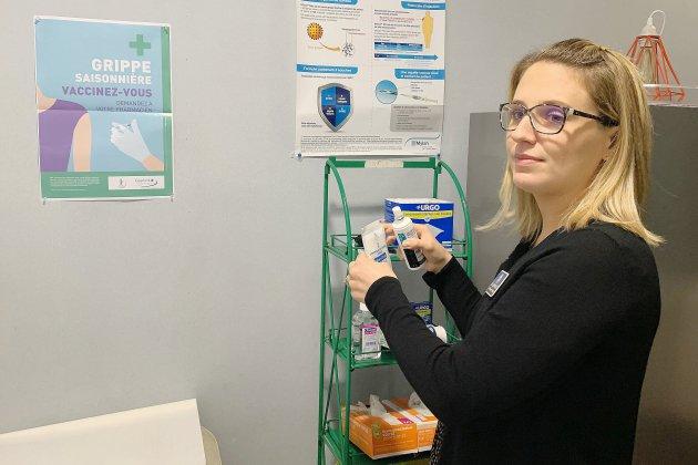 Il est possible de se faire vacciner contre la grippe en pharmacie