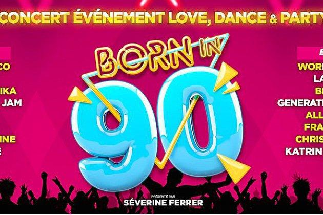 """Born in 90's"", vos places à gagner dans Normandie Matin."