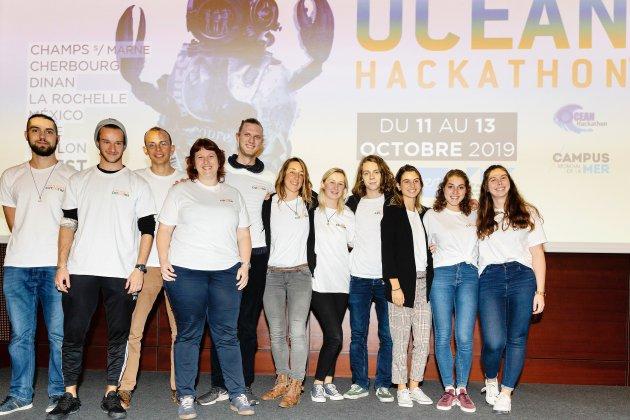 Océan Hackathon: l'application Pech'app en finale