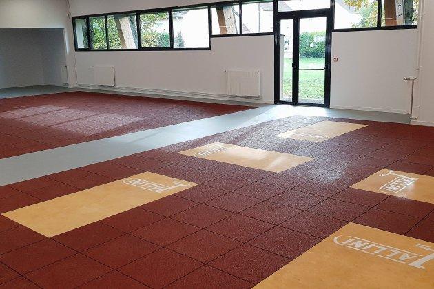 Les nouvelles salles de boxe et d'haltérophilie en avant-première