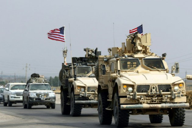 Retirés de Syrie, des soldats américains ont rejoint une base en Irak