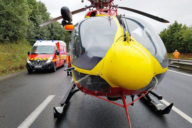 Voiture contre moto : trois blessés dont deux graves