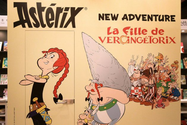 """Astérix, le gaulois le plus populaire chez les """"Goths"""""""