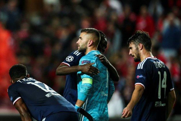 Ligue des champions: Lyon chute à Benfica 2-1