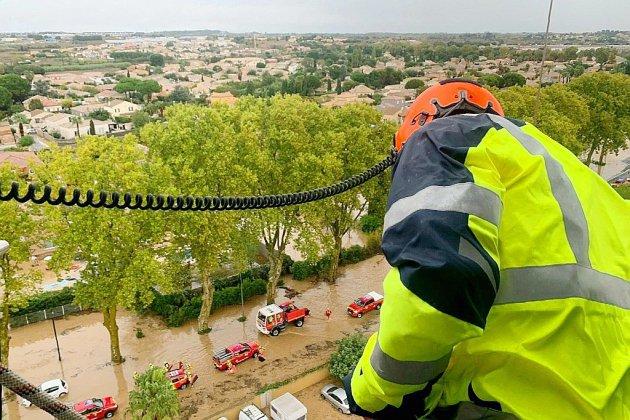 Trois morts dans les intempéries du sud de la France