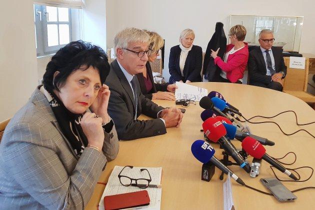 La commission d'enquête sénatoriale sur Lubrizol en déplacement