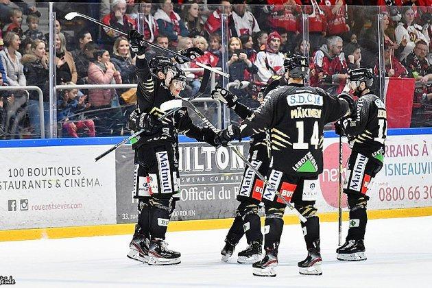 Hockey : les Dragons l'emportent dans la douleur face à Chamonix
