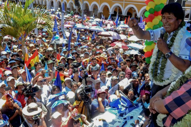 """Bolivie: Evo Morales exclut toute """"négociation politique"""""""