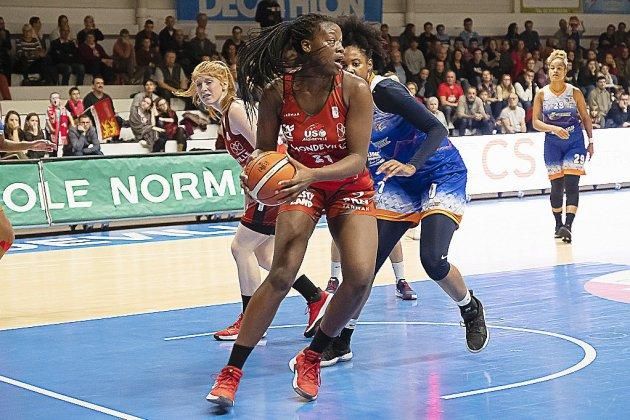 Basket (Coupe de France) : Mondeville qualifiée pour les 1/8èmes de finale