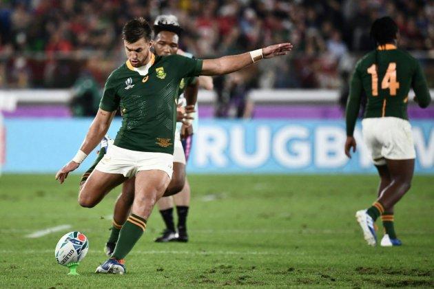 Mondial de rugby: l'Afrique du Sud rejoint l'Angleterre en finale