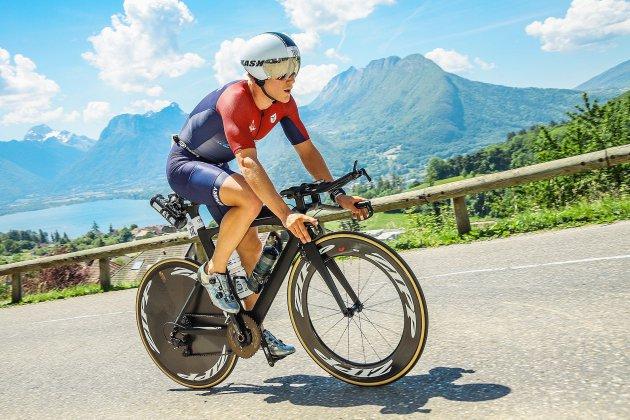 Clément Dubut-Hermel se prépare pour les championnats du monde d'Ironman