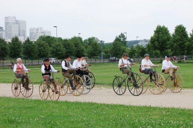 Un grand voyage pour les 150 ans de la première course cycliste