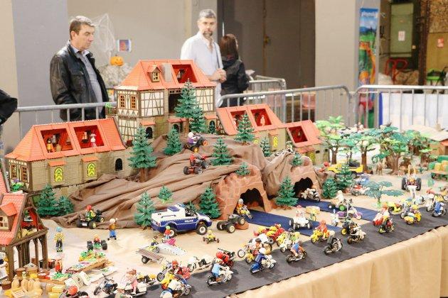[photos] Au cœur du festival Playmobil à la Halle aux toiles