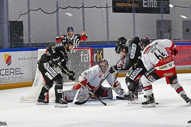 Hockey : les Dragons terminent octobre par une victoire contre Briançon