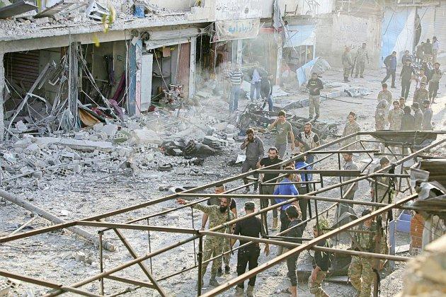 Syrie: au moins 13 morts dans l'explosion d'une voiture piégée à Tal Abyad