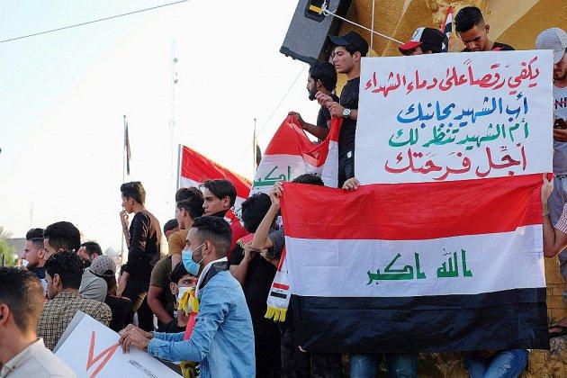 """L'Irak en grève """"jusqu'à la chute du régime"""""""
