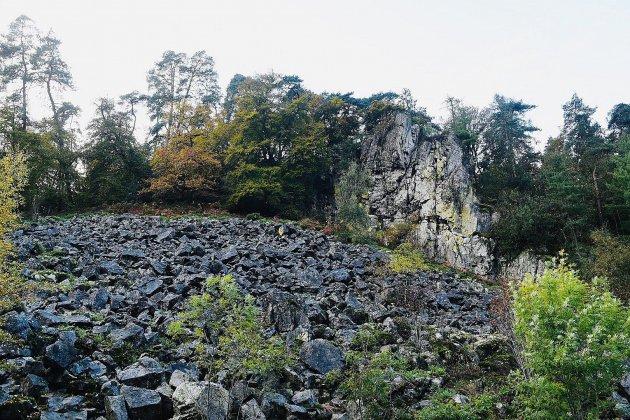 Une réserve naturelle régionale des pierriers de Normandie