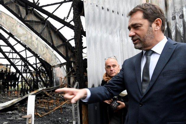 Chanteloup: Castaner, Belloubet et Denormandie mardi sur les lieux de l'incendie