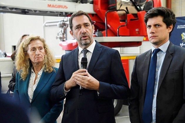 """""""Message de fermeté"""" et """"d'espoir"""" de trois ministres à Chanteloup-les-Vignes après un acte """"odieux"""""""