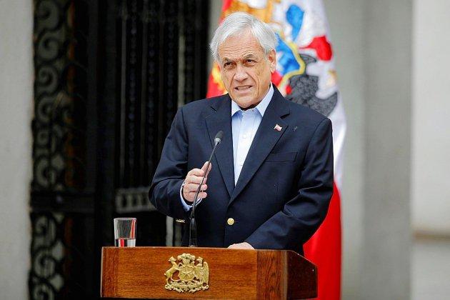 Chili: le président exclut de démissionner, malgré trois semaines de crise sociale