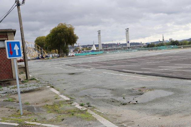 Le parking de la Foire Saint-Romain officiellement gratuit