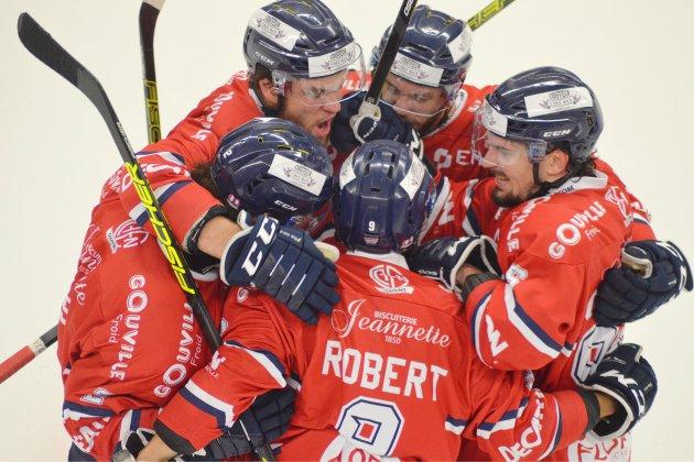Hockey sur glace : festival de buts pour les Drakkars face à Nantes