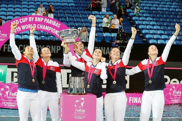 Fed Cup: Le trophée qui parachève la saison des retrouvailles des Bleues