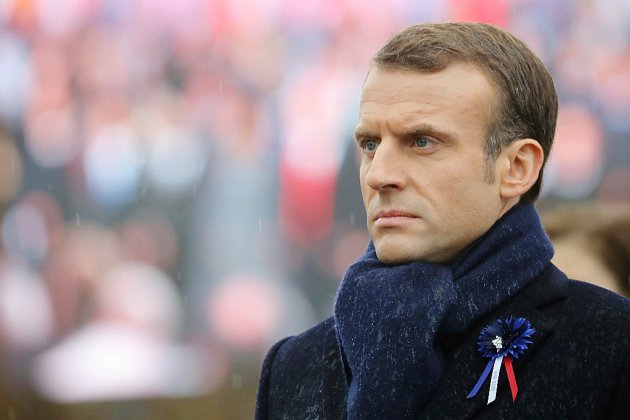 11 novembre: Macron inaugure un monument aux soldats morts loin de la France