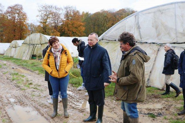 Lubrizol: les agriculteurs se remettent doucement