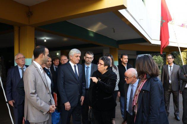 Au Maroc, Hervé Morin vante les atouts des entreprises de la région