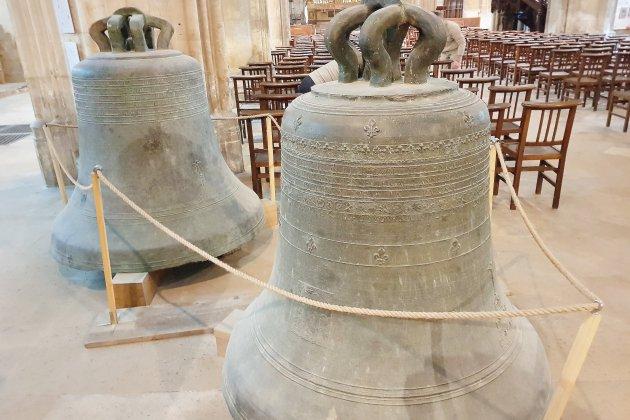 Les cloches de l'église Saint-Pierre vont retrouver leur place