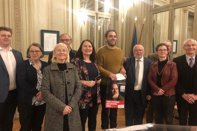 Charles Daubas récompensé par le Prix Littéraire du Cotentin