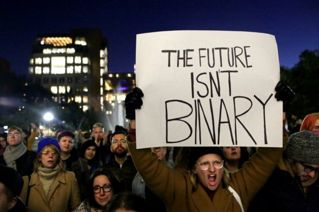 """Il, elle, """"iel"""": des Américains exigent de choisir leur pronom"""