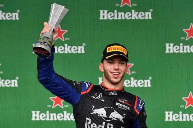 F1: Pierre Gasly, 2e au Brésil et 1er Français sur un podium depuis 2015