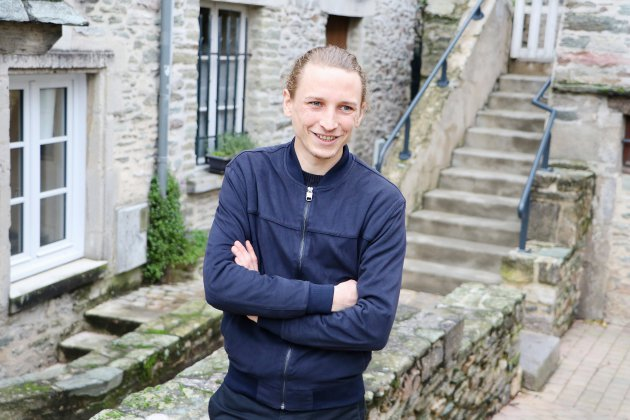 L'acteur cotentinois Ernst Umhauer dans la nouvelle série Canal +