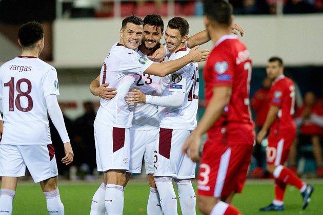 Euro-2020: ça passe pour la Suisse et le Danemark, ça roule pour l'Italie