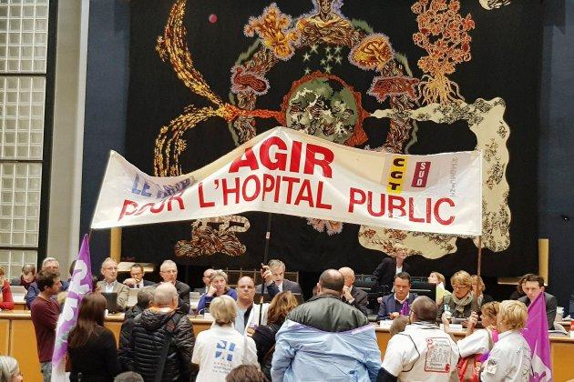 Le Havre. Les hospitaliers s'invitent au Conseil municipal