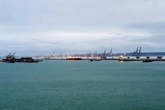 Le port en prospection en Corée