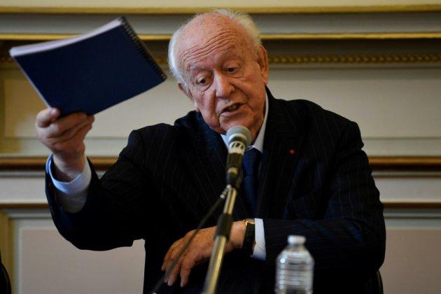 Gaudin à l'heure des comptes lundi sur sa gestion de Marseille