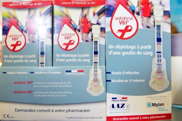 VIH: des tests en hausse et des découvertes de séropositivité en baisse